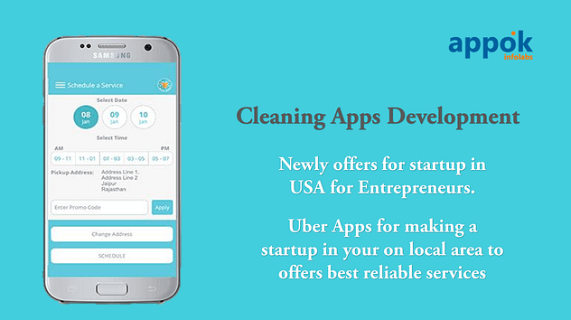 Cleaning Apps Development