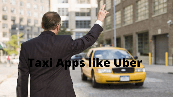 On-Demand Uber Taxi Apps